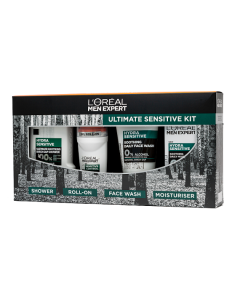 L'Oreal Paris Men Expert Ultimate Sensitive Gift Set For Him