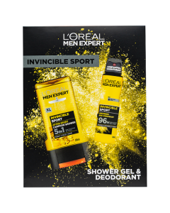 L'Oreal Paris Men Expert Invincible Sport 2 Piece Gift Set For Him