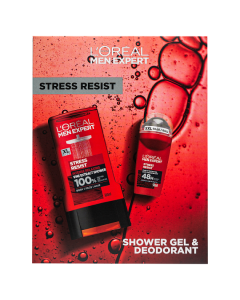 L'Oreal Paris Men Expert Stress Resist 2 Piece Gift Set For Him