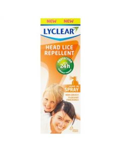 Lyclear Headlice Repellent Leave In Spray 24hr Protection - 100ml