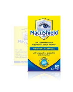 MacuShield Eye Supplements - 90 Capsules