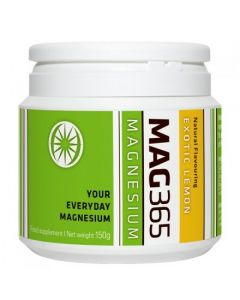 Magnesium Powder Exotic Lemon Flavour 150g