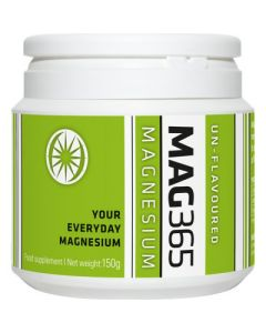 MAG365 Magnesium Powder Unflavoured 150g