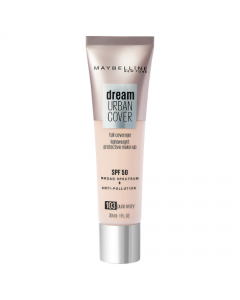 Maybelline Dream Urban Cover All-In-One Protective Makeup 103 Pure Ivory
