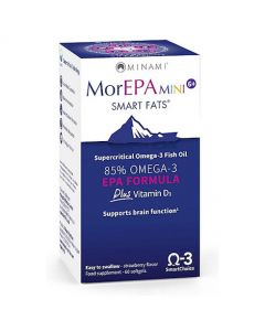 MorEPA Mini 6+ Smart Fats - 60 Softgels