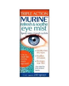 Murine Refresh & Smooth Eye Mist-Triple Action