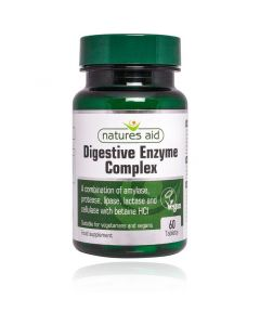 Natures Aid Digestive Enzyme Complex with Betaine HCI (60)