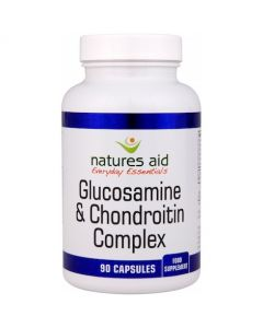Natures Aid Glucosamine Sulphate 500mg and Chondroitin - 90s