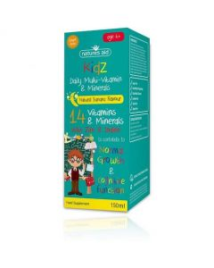 Natures Aid Kidz Multi-Vitamin and Minerals