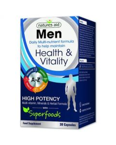 Natures Aid Men's Multi-Vitamins and Minerals