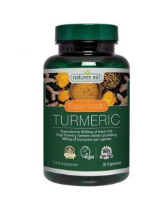 Natures Aid  High Potency Turmeric 8200mg 30 Capsules