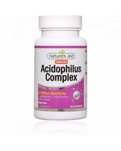 Natures Aid Acidophilus Complex (5 Billion Bacteria) 60 Capsules