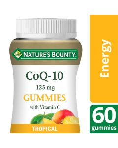 Nature's Bounty CoQ-10 125 mg with Vitamin C Gummies - Pack of 60