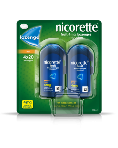 Nicorette Fruit Lozenge 4mg 80