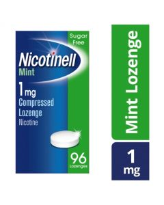 Nicotinell Nicotine Lozenge Stop Smoking Aid 1 mg Mint 96 Pieces