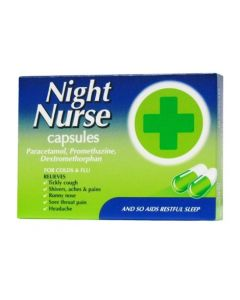Night Nurse - 10 Capsules
