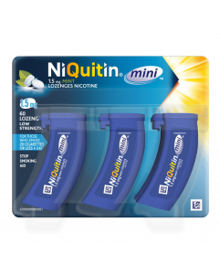 Niquitin Mini Mint Lozenge 4mg 60s