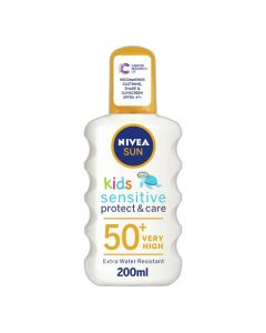 Nivea Sun Kids Sensitive Protect & Care Sunscreen Spray SPF 50+ 200ml