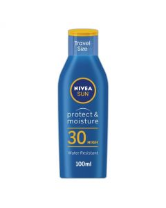 Nivea Sun Protect & Moisture Travel Size Sun Lotion SPF 30 100ml