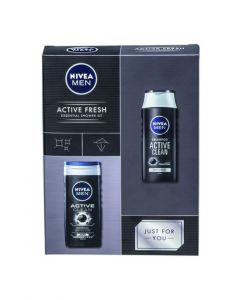 Nivea Men Active Fresh Shower Kit
