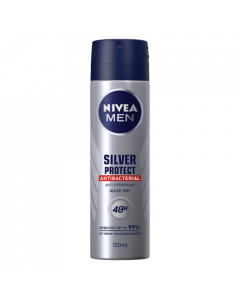 NIVEA MEN Silver Protect Anti-perspirant Deodorant Spray 150ml
