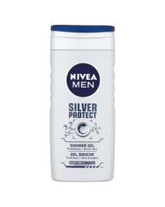 Nivea Shower Silver Protect Shower Gel For Men 250ml