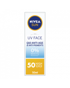 Nivea Sun UV Face Q10 Anti-Age & Anti-Pigments SPF50 50ml
