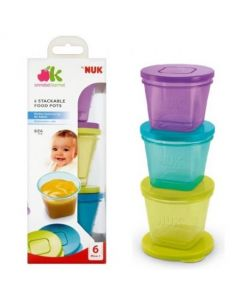 NUK Annabel Karmel Stackable Food Pots
