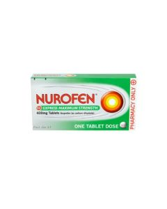 Nurofen Express Maximum Strength 400mg Tablets