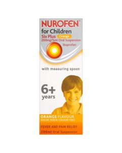 Nurofen for Children Six Plus Orange 200ml