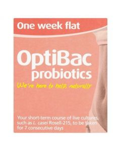 OptiBac Probiotics For a Flat Stomach 7 Sachets