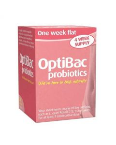 OptiBac Probiotics For a Flat Stomach 28 Sachets