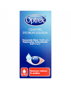Optrex Clear Eyes Eye Drops Solution 10ml