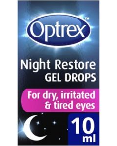 Optrex Night Restore Gel Drops 10ml Bottle
