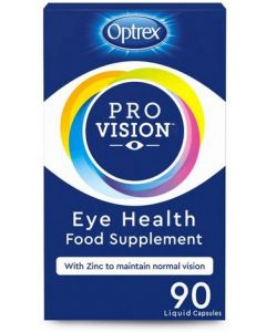Optrex ProVision Eye Health Food Supplement 90 Liquid Capsules
