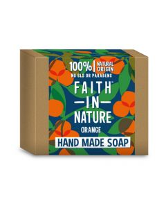Faith in Nature Bar Soap 100g-Orange