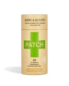 Patch Aloe Vera Organic Bamboo Breathable Bandage 25s