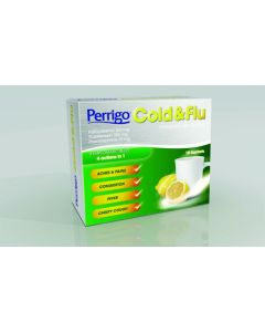 Perrigo Cold and Flu Sachets 500mg Sachet 10's