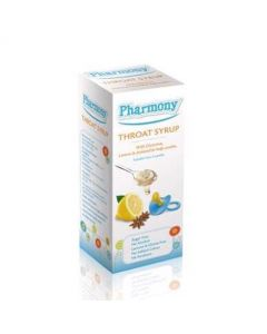 Pharmony Throat Syrup for babies 4m+ and young children 100ml