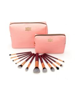 Fuschia Prestige 12 Piece Brush Collection