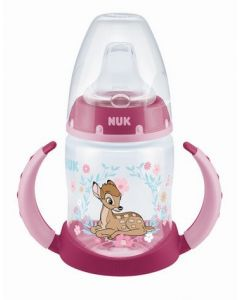 NUK First Choice + Learner Bottle Bambi 150ml