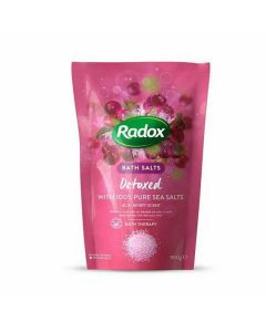 Radox Detoxed Bath Salts Acai Berry 900g