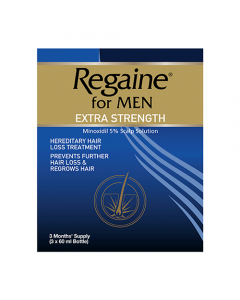 Regaine Extra Strength Scalp Solution 3 x 60ml
