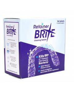 Retainer Brite Cleaning Tablets 36