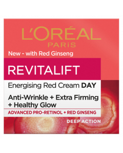 L'Oreal Paris Revitalift Energising Red Day Cream 50ml