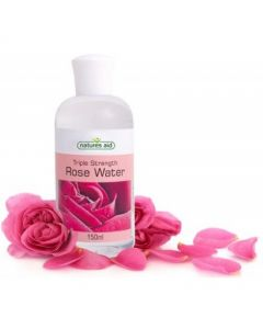 Natures Aid Rose Water (Triple Strength) 150ml