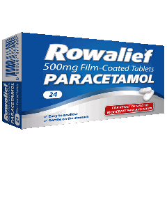 Rowalief Paracetamol 500mg Film Coated Tablets 24 Pack