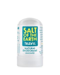 Salt of the Earth Natural Unscented Deodorant Travel Stick 50g
