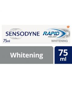 Sensodyne Sensitive Toothpaste Rapid Relief Whitening 75ml