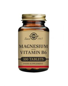 Solgar Magnesium with Vitamin B6 Tablets 100s